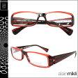 アランミクリ alain mikli メガネ 眼鏡 レッド ブラック A0777 37 セルフレーム サングラス メンズ レディース あす楽 [★20]