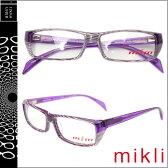 ミクリ mikli アランミクリ メガネ 眼鏡 パープル ホワイト M0808 24 メタルレーム サングラス alain mikli メンズ レディース あす楽 [★20]