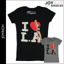 2 Joey Rich JOYRICH short sleeves T-shirt [LEAH DOLLY LOVE LA Tee F11A3TE] color cotton [Lady's] tops T SHIRT[ regular]