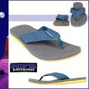 送料無料 パタゴニア patagonia サンダル [reflip #T51325] グレー×ブルー メンズ ビーチ メンズ マウイ リフィリップ SHOES MENS BLUE GRAY SANDALS [ 正規 あす楽 ]