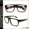 アランミクリ alain mikli メガネ 眼鏡 ブラウン ブラック BWN-32 AL0756 0088 セルフレーム サングラス メンズ レディース