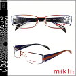 ミクリ mikli アランミクリ メガネ 眼鏡 レッド マルチ BKRD-28 M0853 COL04 メタルフレーム alain mikli サングラス メンズ レディース あす楽 [20]
