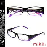 ミクリ mikli アランミクリ メガネ 眼鏡 パープル PUR-12 ML1029 0001 メタルフレーム alain mikli サングラス メンズ レディース