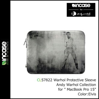 Incase chrome slider INCASE Andy Warhol PC case CL57822 Mac Book Air 15 to meet Andy Worhol men women