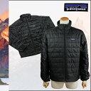 送料無料 パタゴニア patagonia ナ ノパフ ジャケット [ ブラック ] 84210 Patagonia Men's Nano Puff Jacket レギュラーフィット ポリエステル メンズ [ 正規 あす楽 ]
