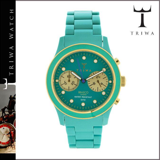 トリワ TRIWA 腕時計 BEL AIR  DCAC106 BEL AIR BRASCO CHRONO プラスチック  ターコイズ WATCH  メンズ レディース [N50]  ポイント最大16倍 SPRING SALE 送料無料  トリワ ウォッチ TRIWA WATCH 腕時計 正規  通販