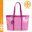 [SOLD OUT]送料無料 トリーバーチ TORY BURCH トートバッグ [ハイビスカスピンク] 19129575 JANE TOTE PVCレザー レディース HIBISCUS PINK トリバーチ TORYBURCH [ 正規 あす楽 ]