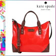 [SOLD OUT]送料無料 ケイトスペード kate spade 2WAY トートバッグ [モダンレッド] WKRU1786 635 JACKS パテントレザー レディース MODERNRED [ 正規 あす楽 ]【□】
