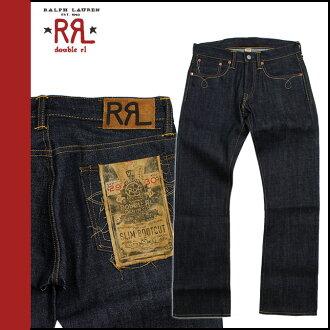 Double Aurel RRL DOUBLE RL Ralph Lauren boot cut denim jeans [Indigo] DENIM JEANS jeans mens