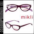ミクリ mikli アランミクリ メガネ 眼鏡 パープル ML1222 C017 セルフレーム alain mikli サングラス メンズ レディース