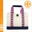 [SOLD OUT]送料無料 トリーバーチ TORY BURCH トート バッグ [ トリーネイビー ] 21129747 405 TOTE カバン 鞄 レディース [ 正規 あす楽 ]
