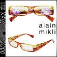 アランミクリ alain mikli メガネ 眼鏡 セルフレーム AL0418-G02G イエロー ブラウン メンズ レディース あす楽 [★20]