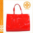[SOLD OUT]送料無料 トリーバーチ TORY BURCH レディース トートバッグ 19149615 603 トリーレッド PERF LOGO PERF TOTE [ 正規 あす楽 ]