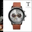 [SOLD OUT]送料無料 トリワ TRIWA 腕時計 メンズ レディース ウォッチ レザー 2014年 新作 NEAC102-B シルバー × ブラウン HAVANA BROWN NEVIL ユニセックス [ 正規 あす楽 ]★★