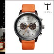 送料無料 トリワ TRIWA 腕時計 メンズ レディース ウォッチ 時計 レザー 2014年 新作 NEAC102-O シルバー × オレンジ HAVANA ORANGE NEVIL ユニセックス [ 正規 あす楽 ]★★