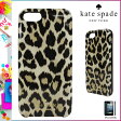 [SOLD OUT]送料無料 ケイトスペード kate spade レディース iPhoneケース 8ARU 0008 998 レオパード LEOPARD IKAT iPhone CASE 5/5S 対応 2015 FALL WINTER COLLECTION コレクションモデル [ 正規 あす楽 ]【□】