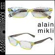 アランミクリ alain mikli メガネ 眼鏡 セルフレーム AL1153-A00T クリア マルチ メンズ レディース