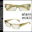 アランミクリ alain mikli メガネ 眼鏡 セルフレーム AL1211-0192 マルチカラー メンズ レディース あす楽