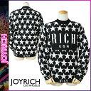 ジョイリッチ JOYRICH ニットセーター セーター 1520100303 ブラック STAR HIGHNECK KNIT CREW メンズ [N50]