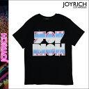 ジョイリッチ JOYRICH Tシャツ 半袖 ティーシャツ カットソー ブラック ICONIC LO
