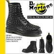送料無料 ドクターマーチン Dr.Martens 8ホール ブーツ [ ブラック ] R14733001 SPIKE メンズ レディース BLACK ユニセックス [ 正規 あす楽 ]★★