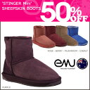 Emu EMU stinger mini-mouton boots [5 colors] W10003 STINGER MINI sheepskin men gap Dis [authorized comfort free shipping tomorrow] [RCP]