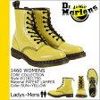 送料無料 ドクターマーチン Dr.Martens 1460 WOMENS 8ホール ブーツ [ サンイエロー ] R11821750 CORE パテント レザー メンズ 8EYE BOOTS エナメル [ 正規 あす楽 ]★★