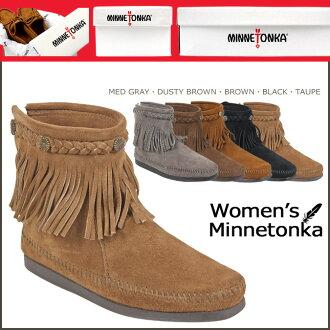 ≪ 예약 상품 ≫ ≪ 11/6 말 입 하 예정 ≫ ミネトンカ MINNETONKA 하이 탑 백 지퍼 부츠 HI TOP BACK ZIP BOOTS 스웨이드 여성용 스웨이드