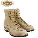 楽天シュガーオンラインショップポイント2倍 ウエスコ WESCO 8インチ ジョブマスター ブーツ 8INCH JOB MASTER Eワイズ ヌバック バーラップ BE108100 ウェスコ メンズ