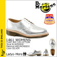 [SOLD OUT]送料無料 ドクターマーチン Dr.Martens 1461 WOMENS 3ホール シューズ [ シルバー ] R14658040 CORE MIE Made in England レザー レディース メンズ [ 正規 あす楽 ]★★