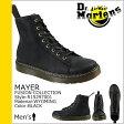 送料無料 ドクターマーチン Dr.Martens 8ホール ブーツ [ ブラック ] R15297001 MAYER レザー メンズ [ 正規 あす楽 ]【□】