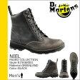 送料無料 ドクターマーチン Dr.Martens 8ホール ブーツ [ ブラック ] R15468001 NIEL レザー メンズ [ 正規 あす楽 ]【□】