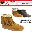 ポイント2倍 ミネトンカ MINNETONKA パイルライン サイドジップ ブーツ PILE LINED SIDE ZIP BOOTS レディース