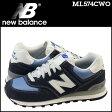 ニューバランス new balance 574 スニーカー ML574CWO Dワイズ メンズ 靴 グレー