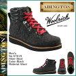 送料無料 アビントン ABINGTON ティンバーランド Timberland × Woolrich ハイカー ブーツ 6761R [ ブラック ] Hiker Boot ウール メンズ ウールリッチ[ 正規 あす楽 ]【バレンタイン】