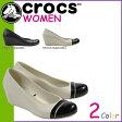 クロックス crocs レディース サンダル パンプス キャップトゥ WOMENS CAP TOE WEDGE 12299 海外正規品
