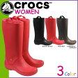 ポイント2倍 クロックス crocs レディース レインブーツ 長靴 レインフロー WOMENS RAINFLOE BOOT 12424 海外正規品