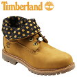 [SOLD OUT]送料無料 ティンバーランド Timberland レディース キッズ オーセンティックス ロールトップ [ ウィート × ブラウン ] AF AUTH ROLL TOP ヌバック 8135A [ 正規 あす楽 ]【□】