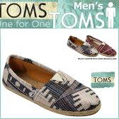 TOMS SHOES トムズ シューズ スリッポン WEAVE MEN'S CLASSICS トムス トムズシューズ メンズ あす楽