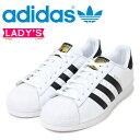 アディダス スニーカー スーパースター レディース アディダス オリジナルス SUPERSTAR W adidas Originals C77153 靴 ホワイト ブラック [12/22 追加入荷]
