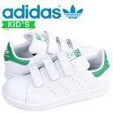adidas スタンスミス ベルクロ キッズ アディダス Originals スニーカー STAN SMITH CF C M20607 靴 ホワイト [11/6 追加入荷]