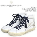 Golden Goose ゴールデングース スニーカー メンズ スライド SNEAKERS SLIDE ホワイト G32MS595 TEX