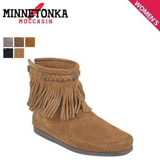 «Reservation products» «10 / 29 days stock» Minnetonka MINNETONKA Hi top back zip boot HI TOP BACK ZIP BOOTS suede ladies suede