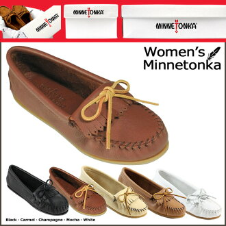 «Reservation products» «around the 10 / 11 stock» Minnetonka MINNETONKA deerskin soft moccasin DEERSKIN SOFT MOC leather women's