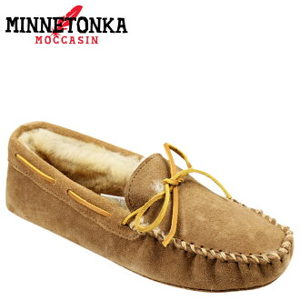 «Pre-order items» [1 / 16 when I will be in stock» Minnetonka MINNETONKA moccasins mens Sheepskin Soft sole room shoes SHEEPSKIN SOFTSOLE MOCCASIN MEN's 3811 Tan [1 / 16 new stock] [regular] ★ ★