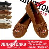 ミネトンカ MINNETONKA モカシン サンダーバード2 [ 7カラー ] THUNDERBIRD II スエード レディース 600 601T 602 603 604 60