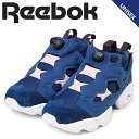 Reebok ポンプフューリー スニーカー リーボック レディース メンズ コラボ FACE STOCKHOLM INSTAPUMP FURY AR2650 靴 ネイビー