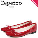 ショッピングバレエシューズ Repetto レペット バレエシューズ サンドリオン パンプス レディース CENDRILLON BALLERINA レッド 赤 V086-550