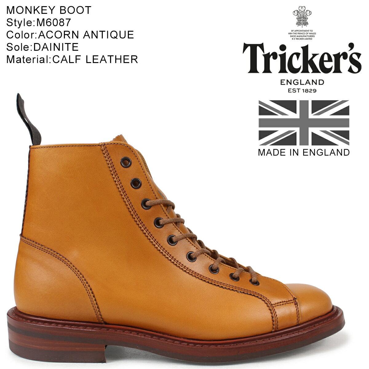 【最大1000円OFFクーポン配布】 Tricker's トリッカーズ モンキーブーツ MONKEY BOOT M6087 5ワイズ メンズ