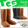 UGG アグ キッズ クラシック トール ムートンブーツ KIDS CLASSIC TALL 5229K 5229YK シープスキン レディース